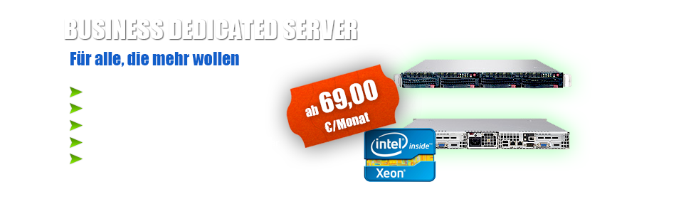 Business Rootserver